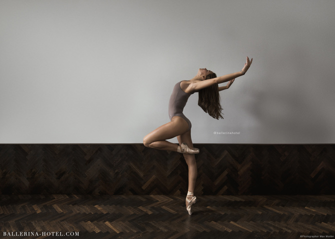 Ella persson ballerina hotel for Bild ballerina